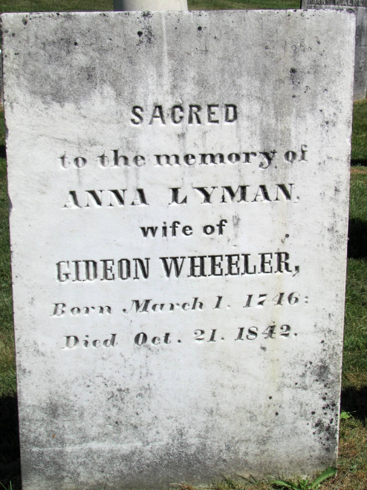 Anna Lyman Wheeler
