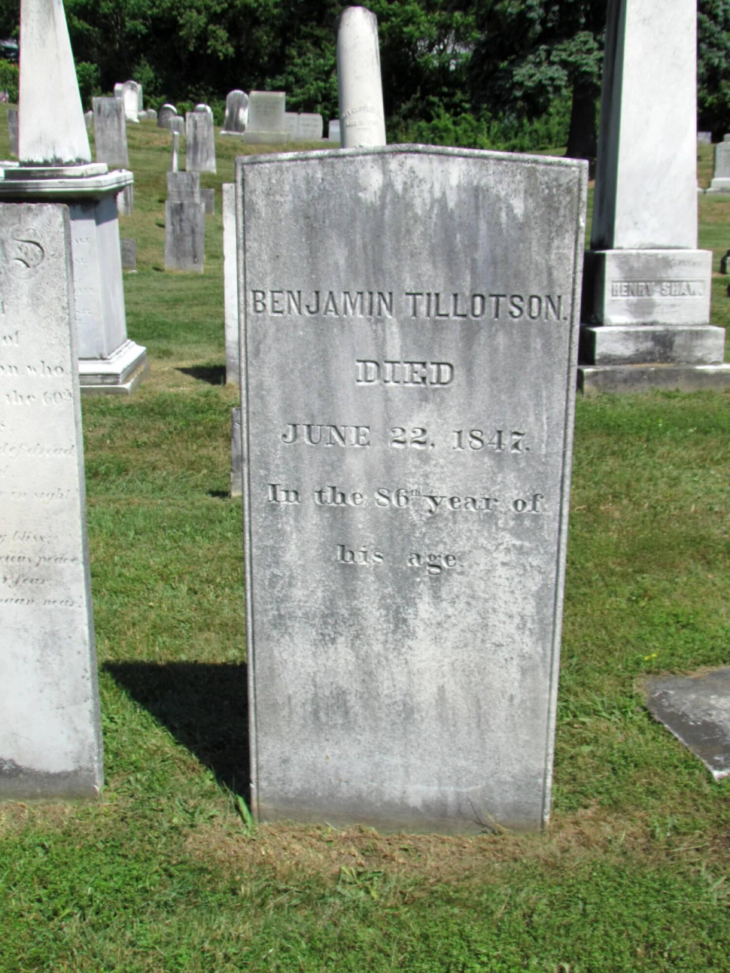 Benjamin Tillottson