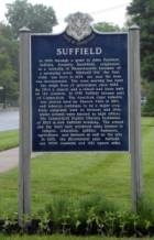 Suffield Sign