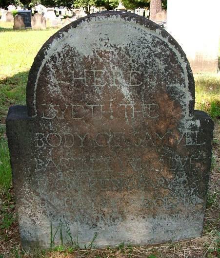 Bartlett Grave
